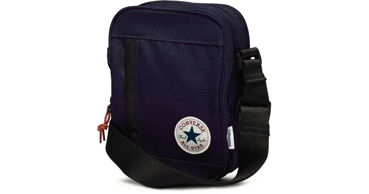 d7e2a88aeb34 Converse All Star Cross Body Messenger Bag in Blue for Men - Lyst