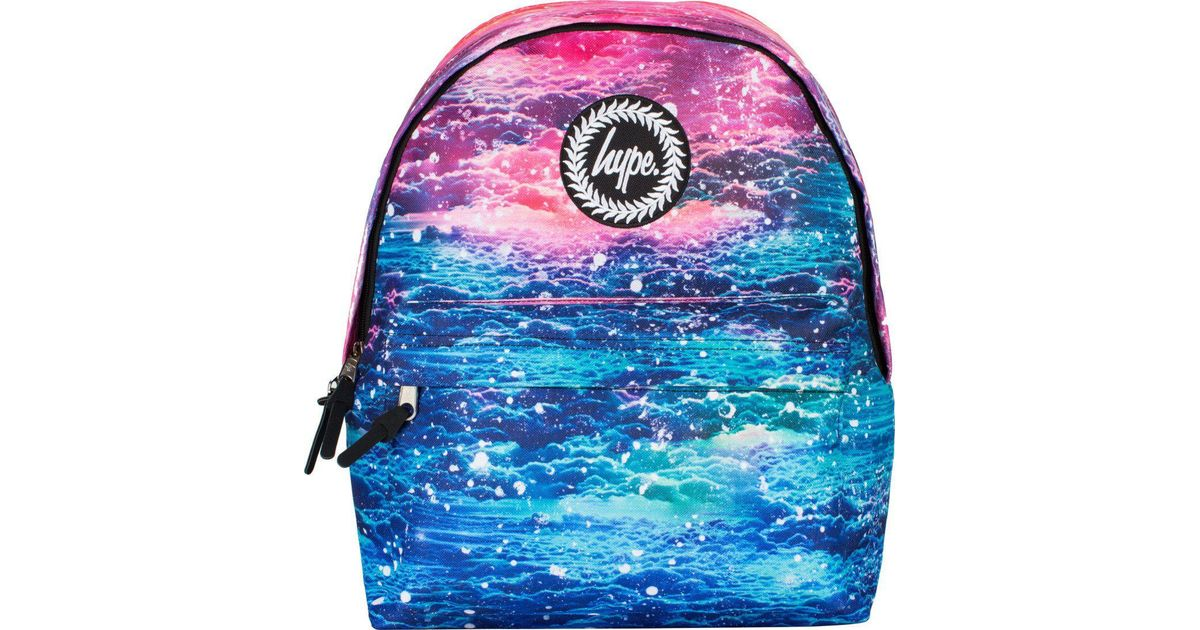77f55cd49bc3 Hype Pink Sky Clouds Backpack Rucksack Bag in Pink - Lyst