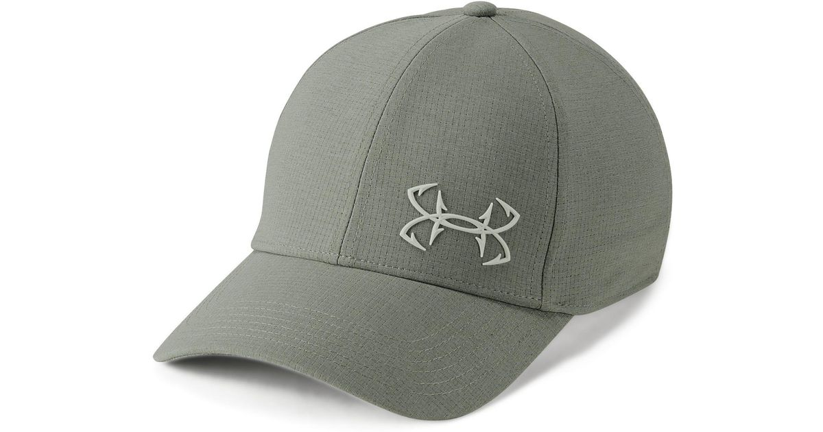7a0b5a55165 Lyst - Under Armour Men s Ua Fish Coolswitch Armourventtm Cap in Green for  Men