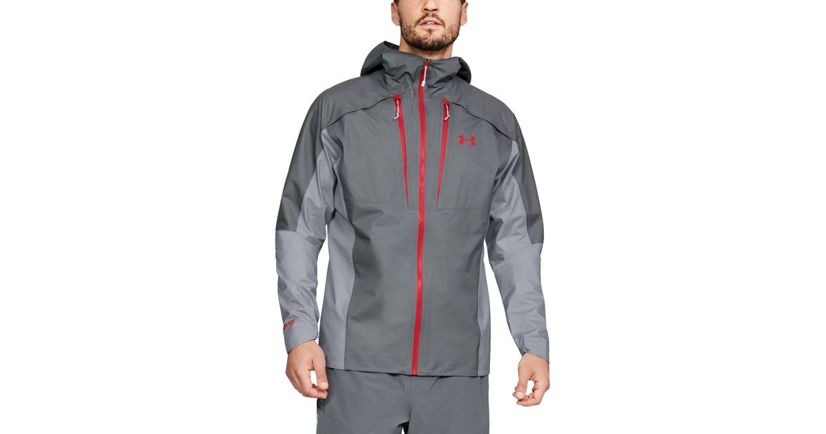 a8c745dcf Under Armour Men's Ua Atlas Gore-tex® Active Jacket in Gray for Men - Lyst
