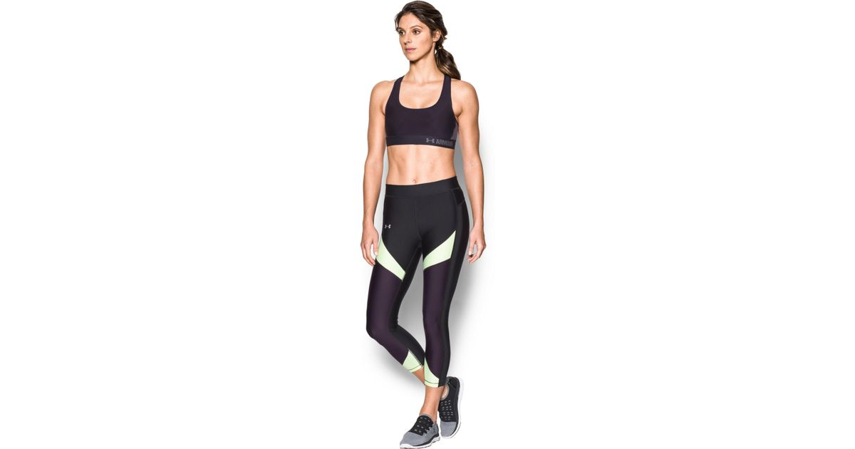 e4ee6ff86ebcb Lyst - Under Armour Women s Armour® Crossback Mid