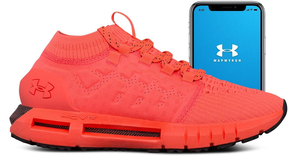 finest selection 9e31f 6b905 Under Armour Women s Ua Hovr Phantom Connected Running Shoes in Red - Lyst