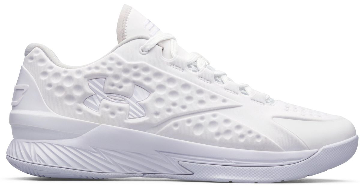 05cb6413ab86 Lyst - Under Armour Men s Ua Icon Curry 1 Low Custom Basketball Shoes in  White for Men