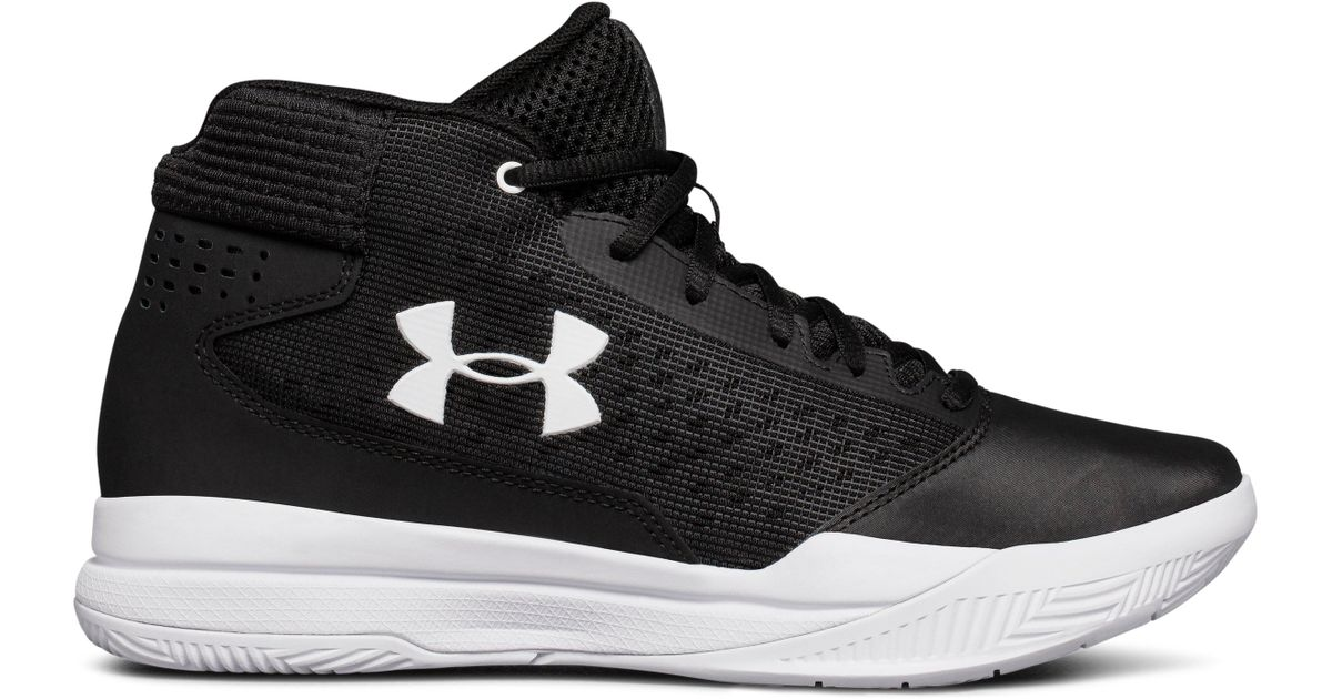 a326296ed94 Under Armour Women s Ua Jet 2017 Basketball Shoes in Black - Lyst