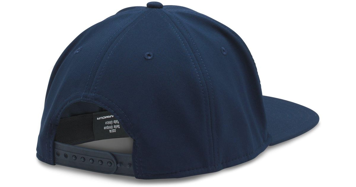 cfa0153cd9f Lyst - Under Armour Men s Sc30 Core Snapback Cap in Blue for Men