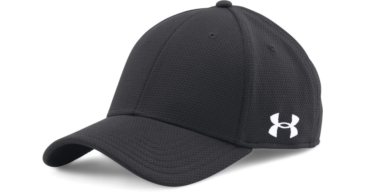 meet c6509 4985b ... wholesale lyst under armour mens ua curved brim stretch fit cap in  black for men f0556