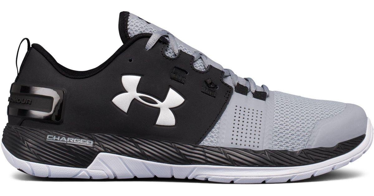 premium selection 31d49 b416b Under Armour Men s Ua Commit Training Shoes in Black for Men - Lyst