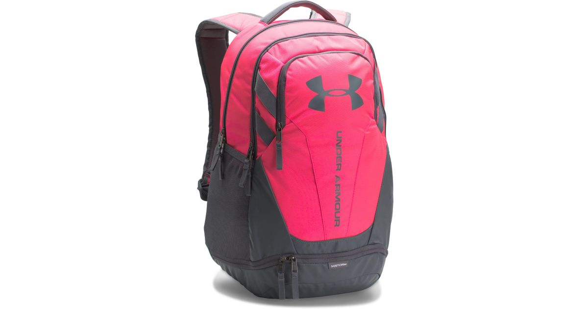 6fc5848d6ea8 Lyst - Under Armour Ua Hustle 3.0 Backpack in Pink