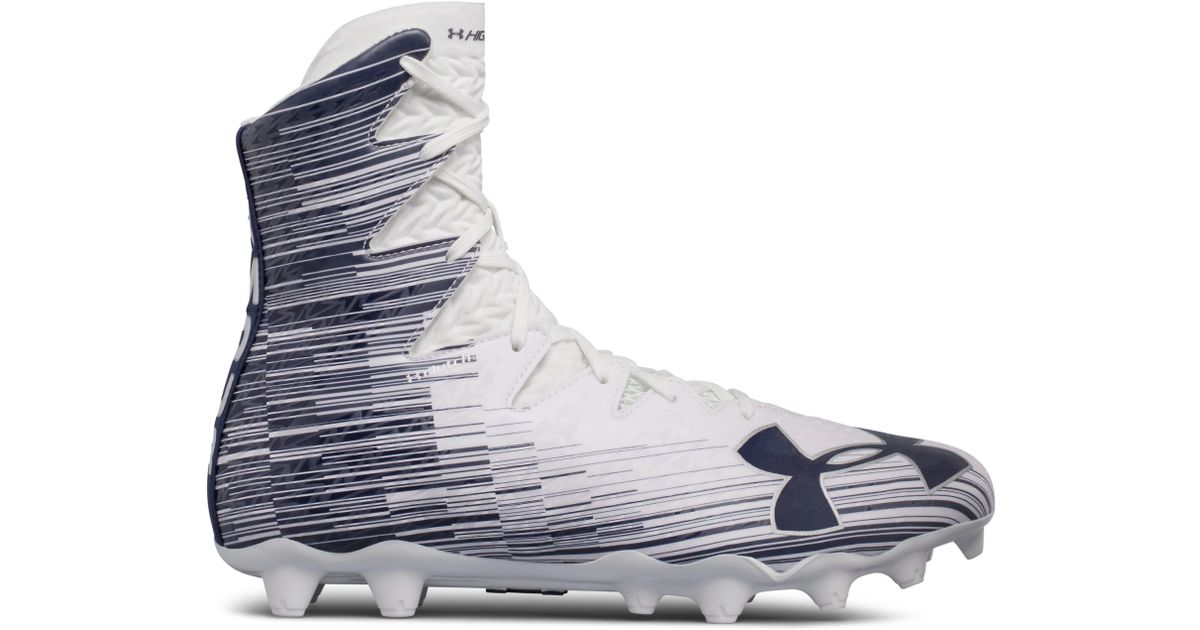 813faa6cd14 Lyst - Under Armour Men s Ua Highlight Mc Lacrosse Cleats in White for Men