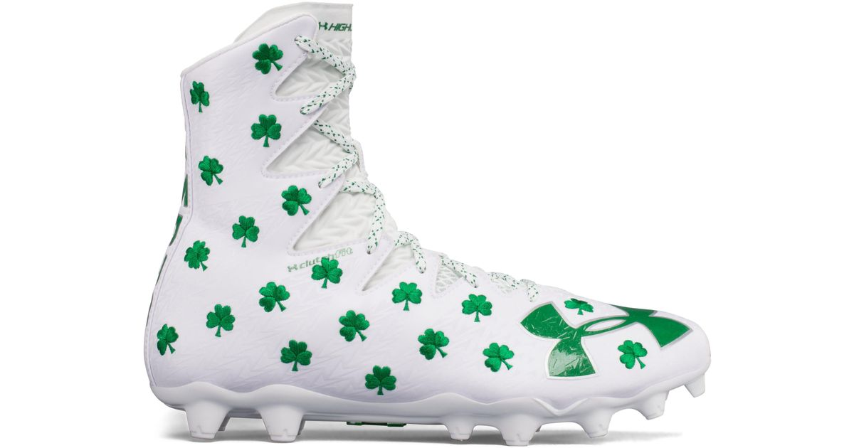d8bbea2b5 Under Armour Men s Ua Highlight Critter Pack Mc Lacrosse Cleats in White  for Men - Lyst