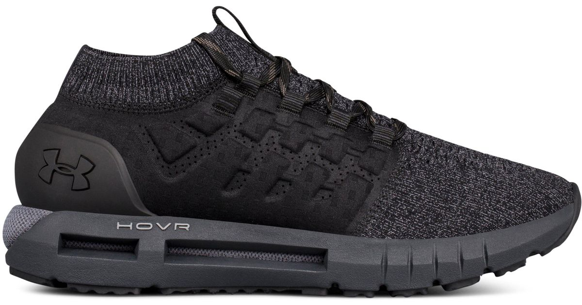 Lyst - Under Armour Men s Ua Hovr Phantom Heather Running Shoes in Black  for Men a0d22b1c0