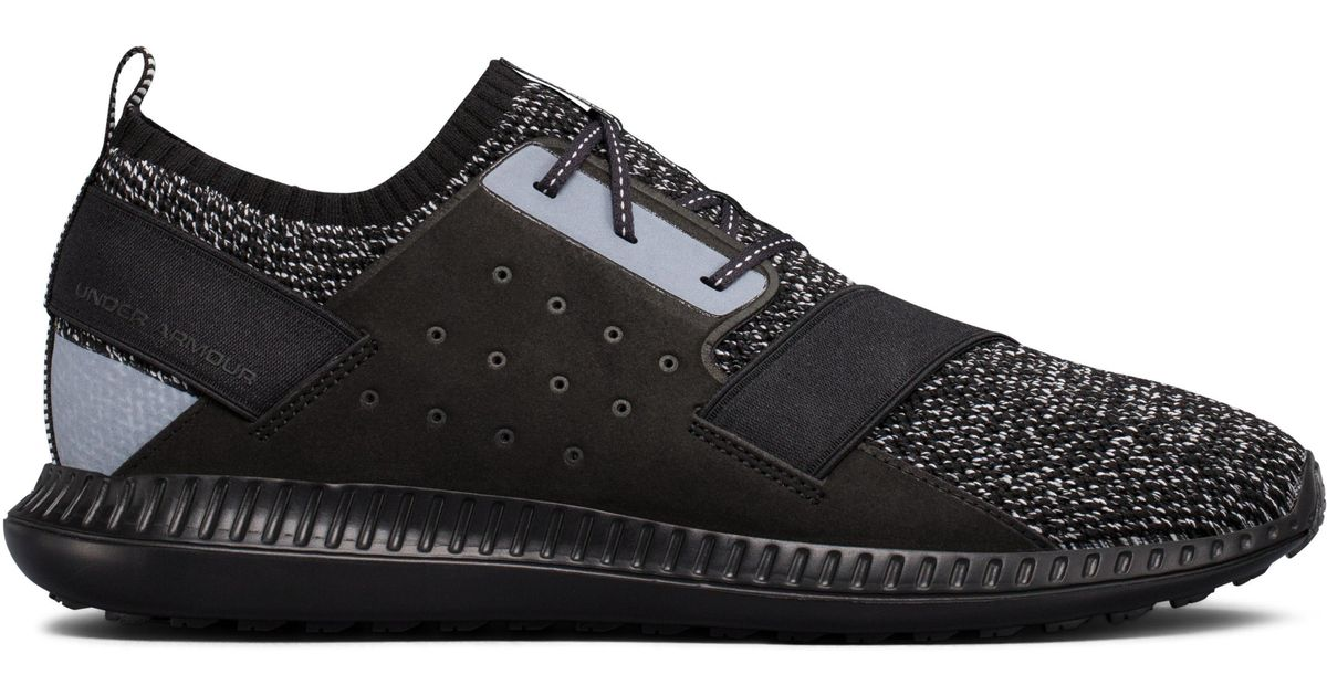 newest 33bfe deaa1 Under Armour - Black Men's Ua Threadborne Shift Heathered Sportstyle Shoes  for Men - Lyst