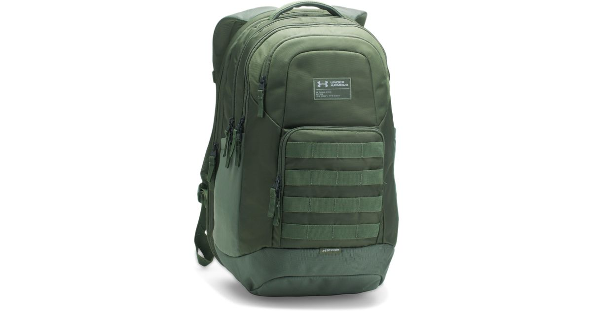 cec058d8817d Lyst - Under Armour Ua Guardian Backpack in Green for Men