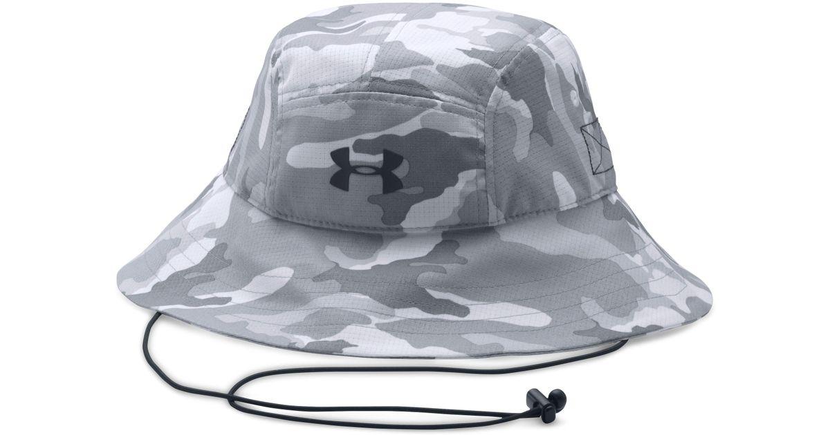 183bcd4c26cc8 ... denmark lyst under armour mens ua armourventtm bucket hat in gray for  men fcefa c54da