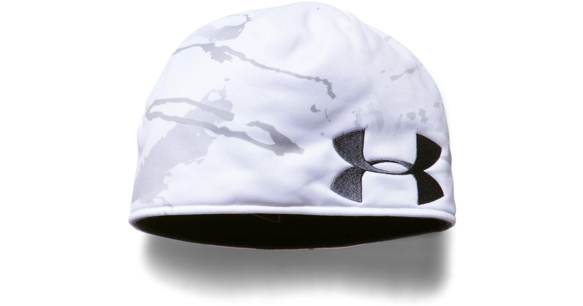 8be431657a4 Lyst - Under Armour Men s Ua Reversible Camo Beanie in Blue for Men
