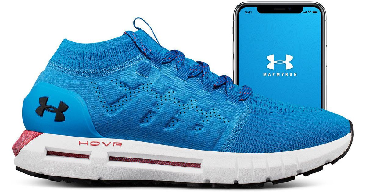 purchase cheap 67141 ccc1b Under Armour Men s Ua Hovr Phantom Connected Running Shoes in Blue for Men  - Lyst