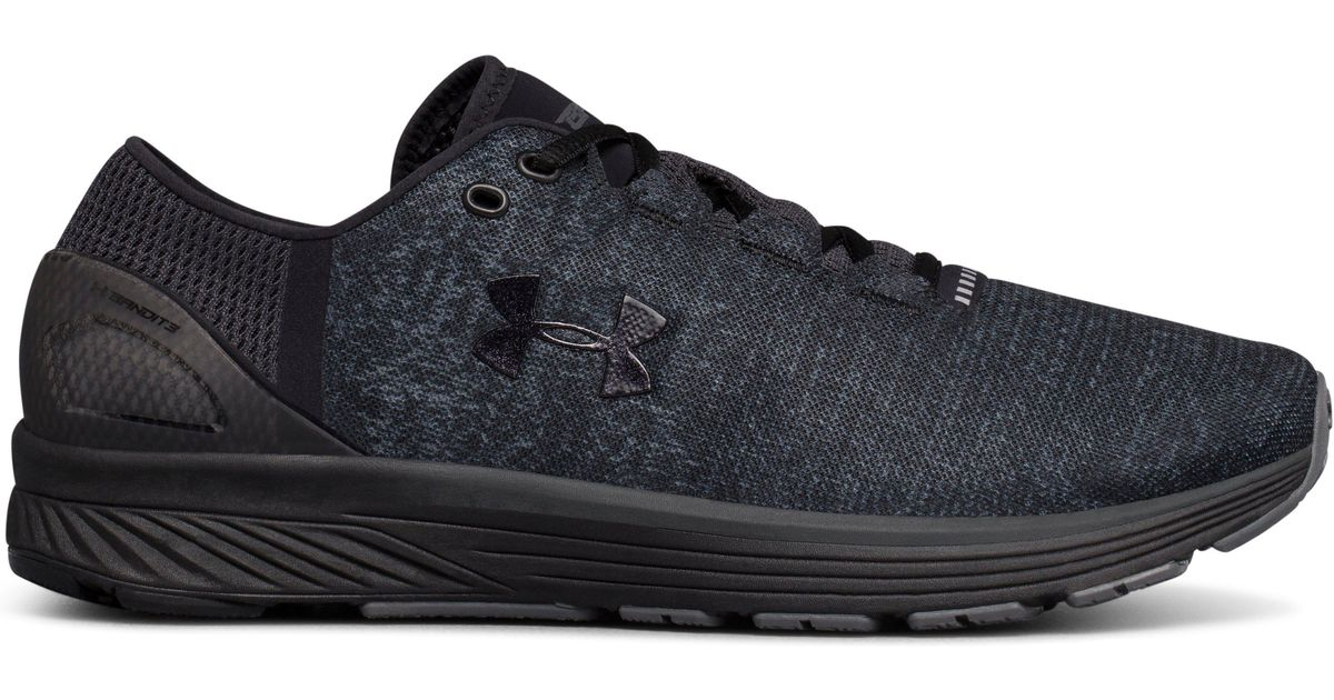 4efe83b5a494 Lyst - Under Armour Men s Ua Charged Bandit 3 Running Shoes in Black for Men