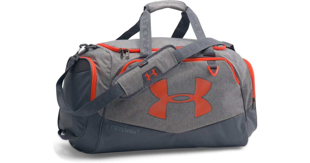 0b4ff92a94 Lyst - Under Armour Ua Storm Undeniable Ii Md Duffle in Gray for Men