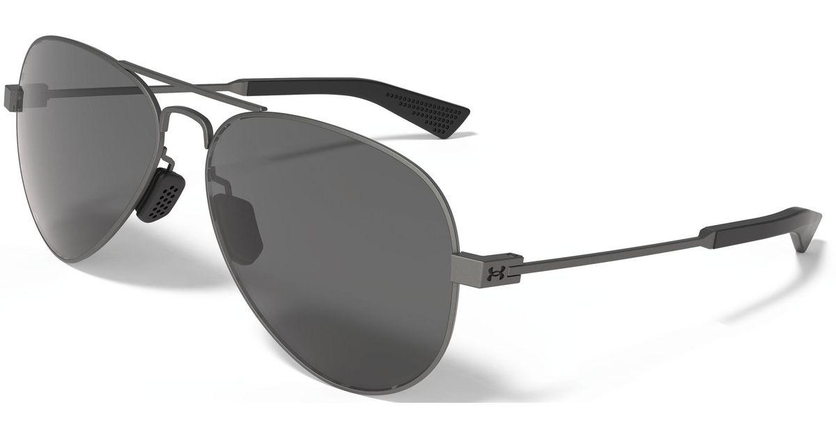 0447164f180 Lyst - Under Armour Ua Getaway Storm Polarized Sunglasses in Gray