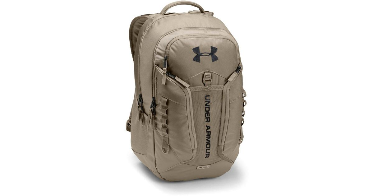 buy popular fc6df 9b75f Under Armour Storm Contender Backpack - Lyst