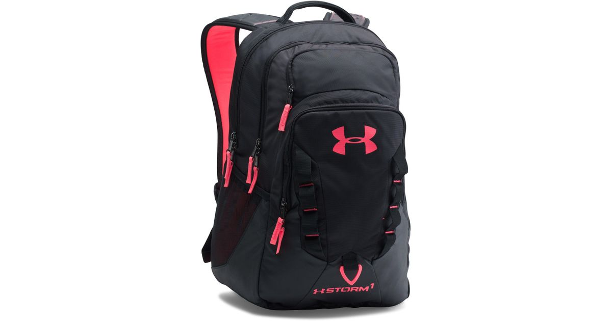 1a3b0cc86f ... Excellence-Sports Replay -  Lyst - Under Armour Ua Storm Recruit  Backpack in Black  Under Armour Storm Hustle II Backpack ...