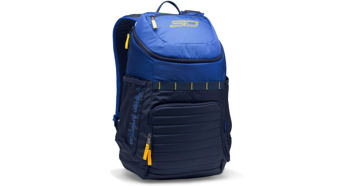 f564a938bbd Lyst Under Armour Sc30 Undeniable Backpack In Blue For Men. Under Armour  Hustle Backpack