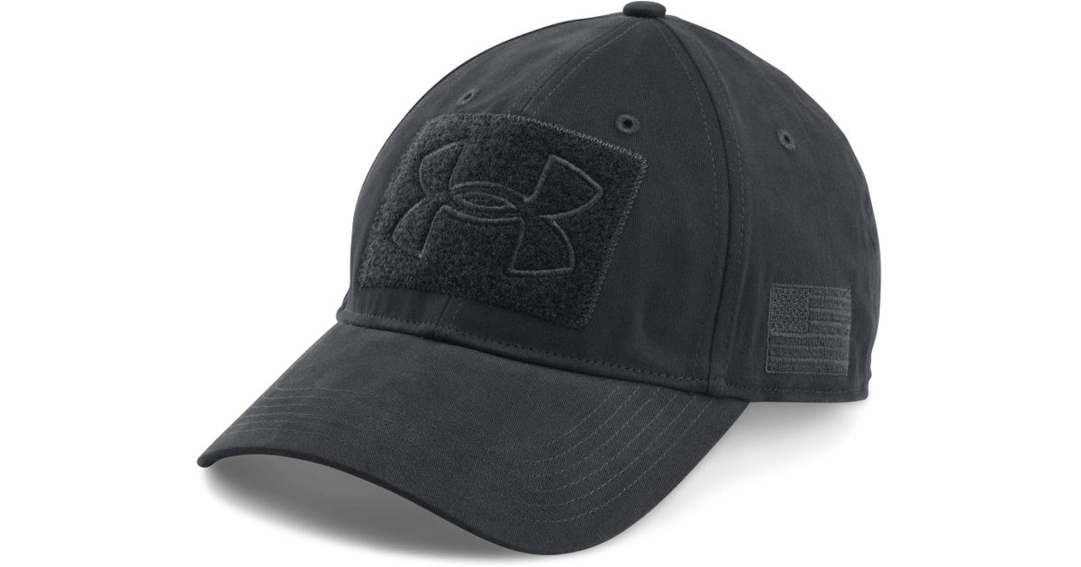 Lyst - Under Armour Men s Ua Tactical Patch Cap in Blue for Men 648bf744d68