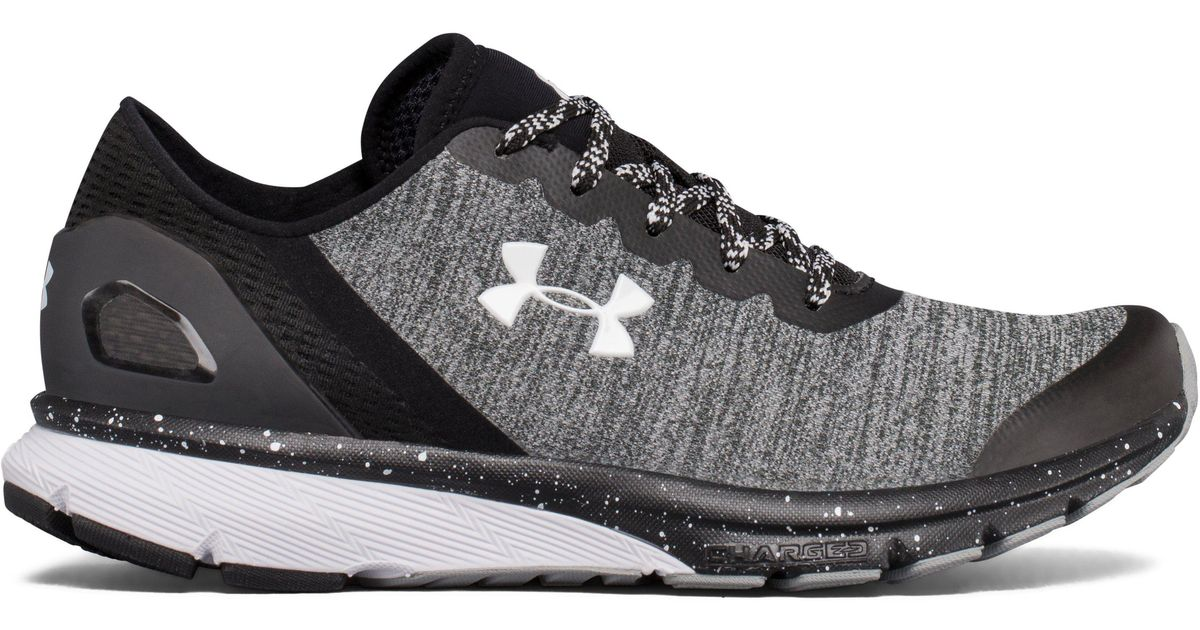 Lyst - Under Armour  s Ua W Charged Escape Running Shoes Grey in Black f74ea72e7