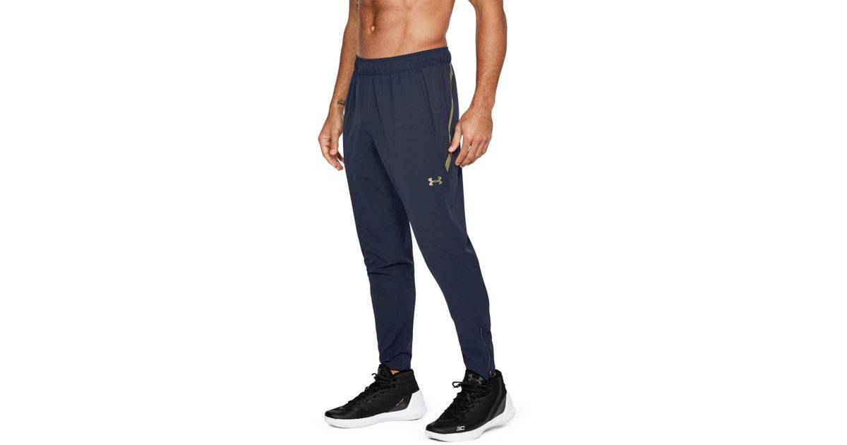 8fddfaae479 Lyst - Under Armour Men s Ua Select Warm-up Pants in Blue for Men