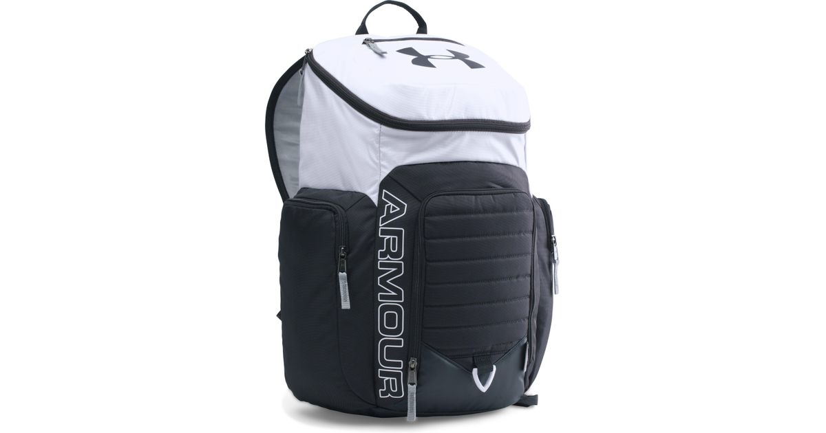 sale retailer 39c39 42d4e Under Armour Ua Storm Undeniable Ii Backpack in White for Men - Lyst