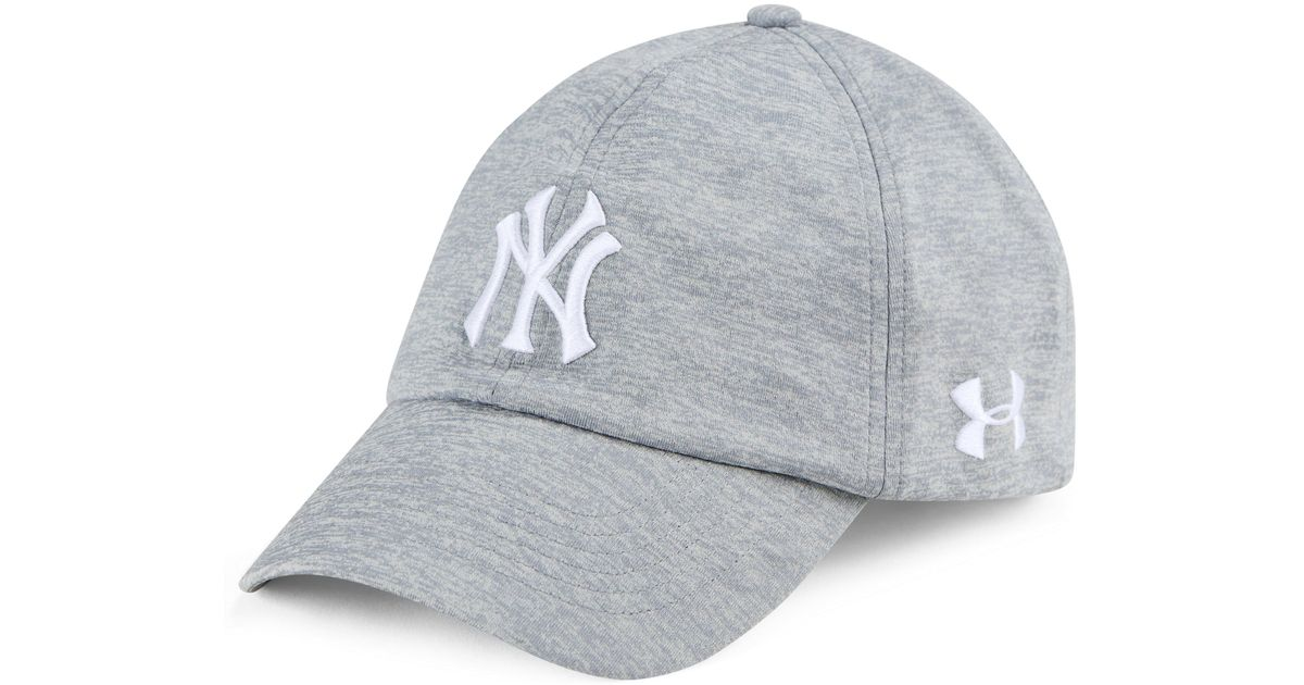 low priced b97b2 2ea4a Lyst - Under Armour Women s Mlb Renegade Twist Cap in Gray for Men