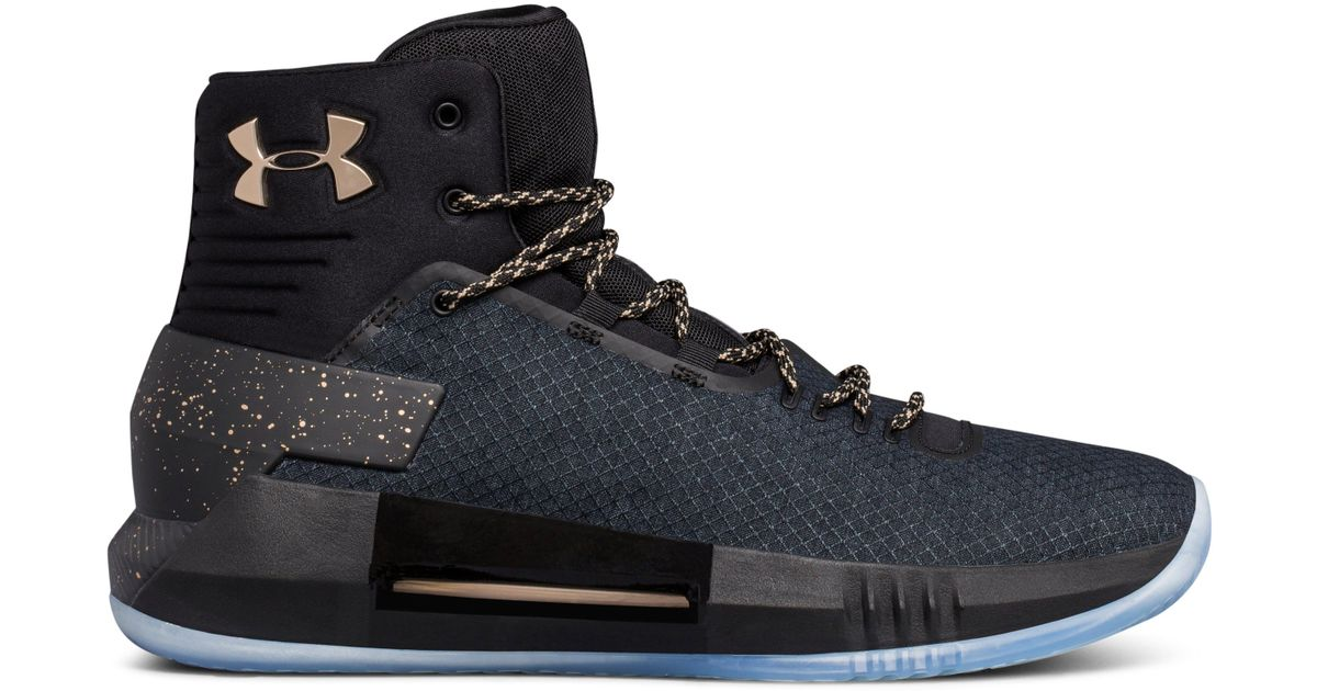 16860d9658b Lyst - Under Armour Men s Ua Drive 4 X Basketball Shoes in Black for Men  men s