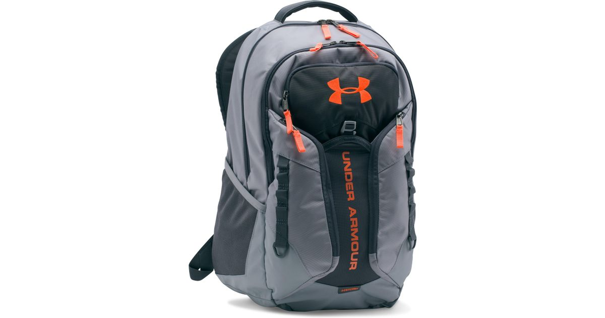 cheap for discount b7d68 0e694 Under Armour Ua Storm Contender Backpack in Gray for Men - Lyst