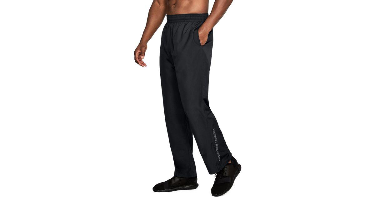 7ba2e90d214 Under Armour Men's Ua Vital Warm-up Pants in Black for Men - Lyst