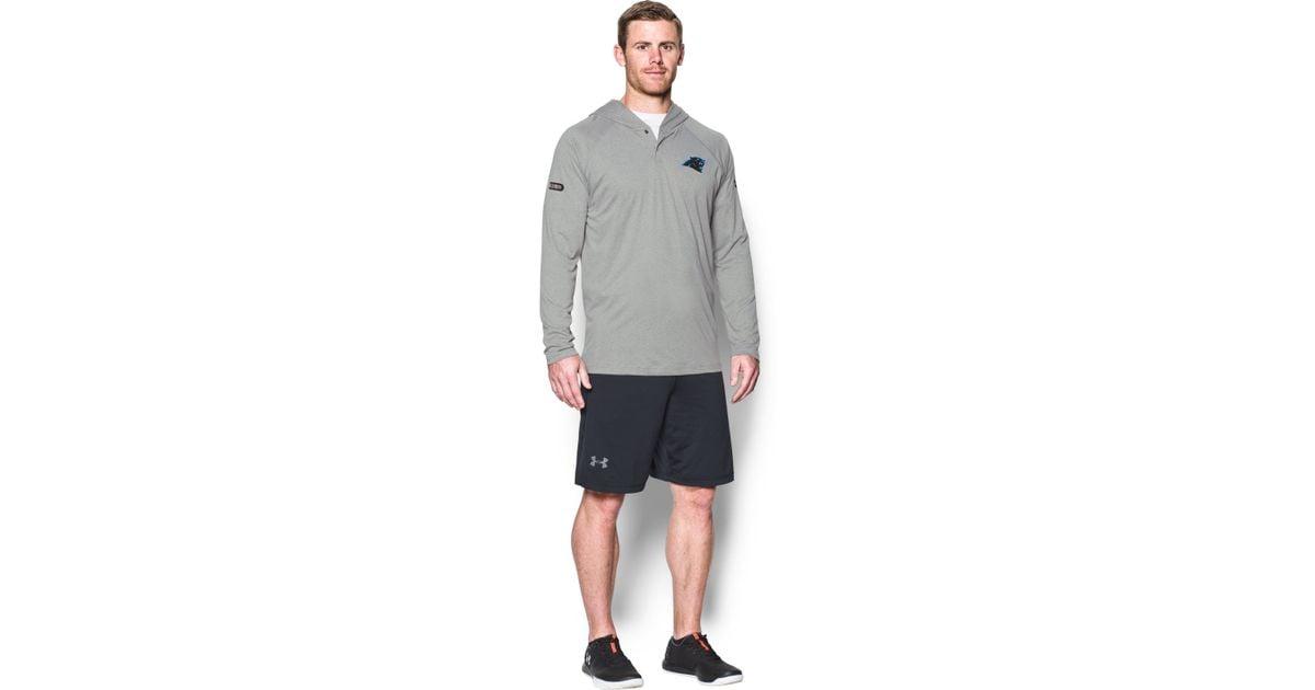307853e0 Lyst - Under Armour Men's Nfl Combine Authentic Ua Techtm Popover Hoodie in  Gray for Men