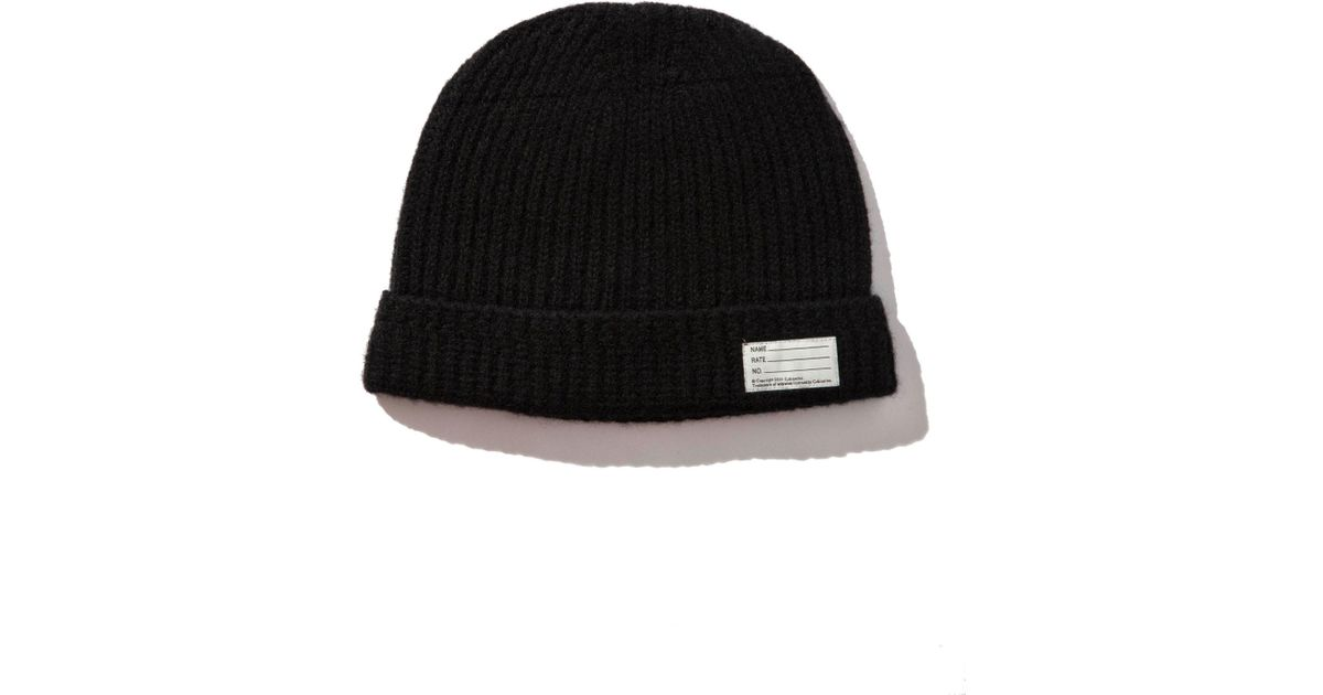 a21660e3d5bf7 Visvim Knit Beanie (wool) in Black for Men - Save 36% - Lyst