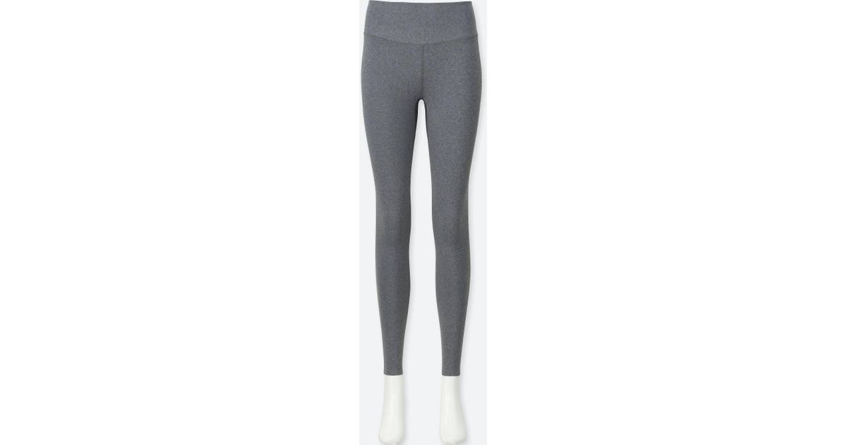 ebc389fbc5de5 Lyst - Uniqlo Women Airism Leggings in Gray