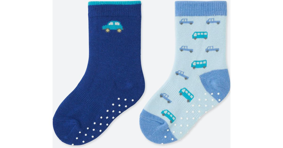 Uniqlo Socks (2 Pairs) in Blue for Men   Lyst