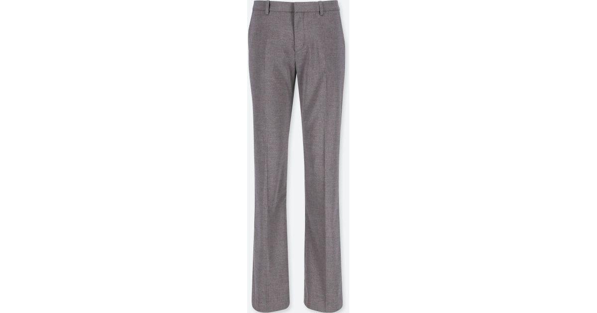 5c0fe0ac5901d3 Lyst - Uniqlo Women Stretch Pants in Gray