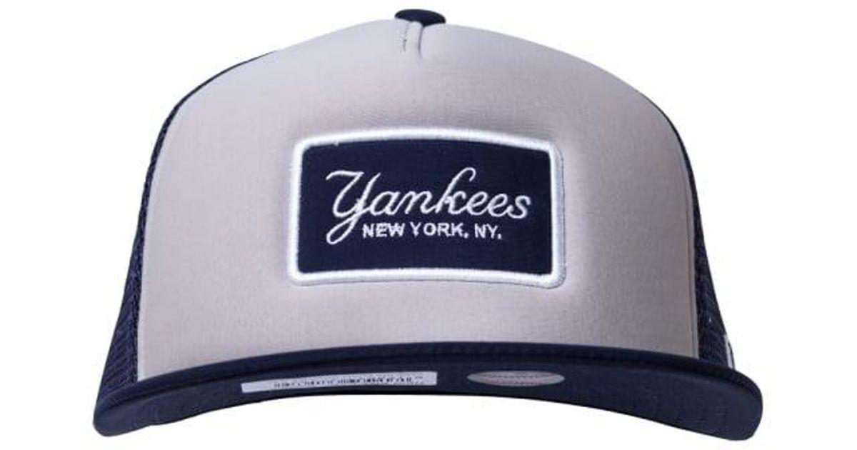 19541a597e8 Lyst - KTZ Ny Yankees Emblem Foam A Frame 9fifty Snapback in Blue for Men