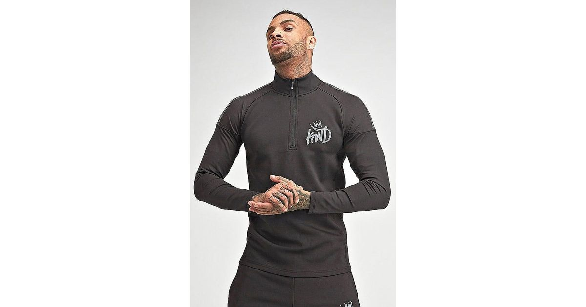 Foley Track Top In Black - Black Kings Will Dream Explore Cheap Online Best Prices Online 4ACn3i2f