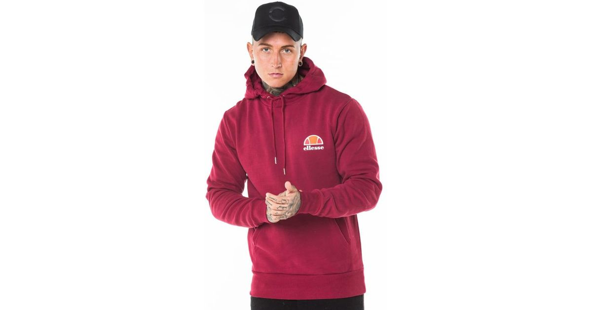 f7543d6bcaa6 Lyst - Ellesse Toce Overhead Hoody in Red for Men