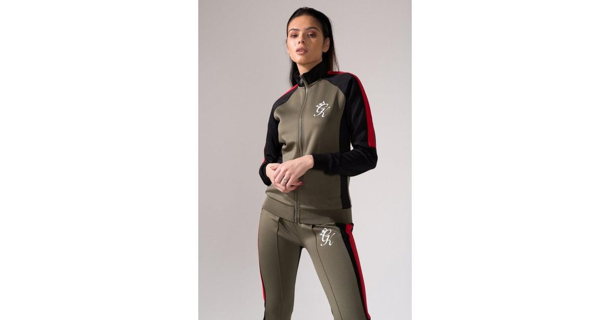 Gym King Women s Stella Poly Tracksuit Top - Lyst 3790cef9f