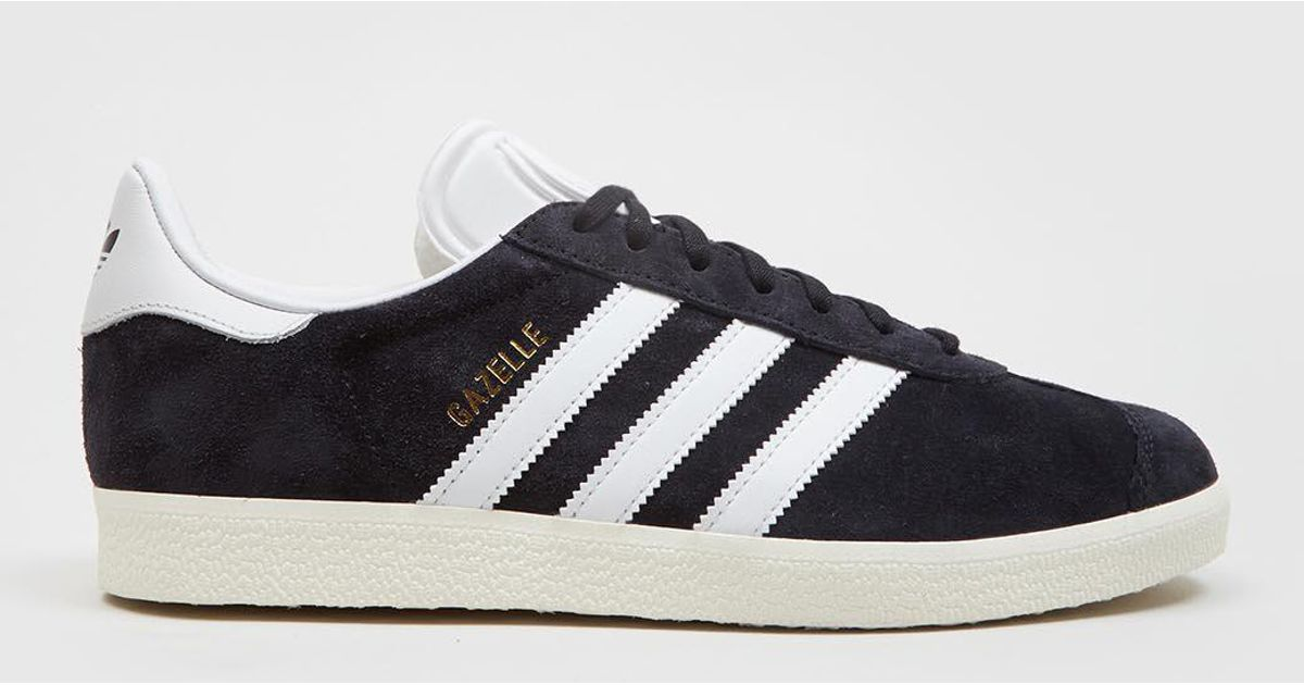 adidas Originals Adidas Gazelle Bb5491 (vintage Suede) in Black for Men -  Save 50.0% - Lyst 71defa5de