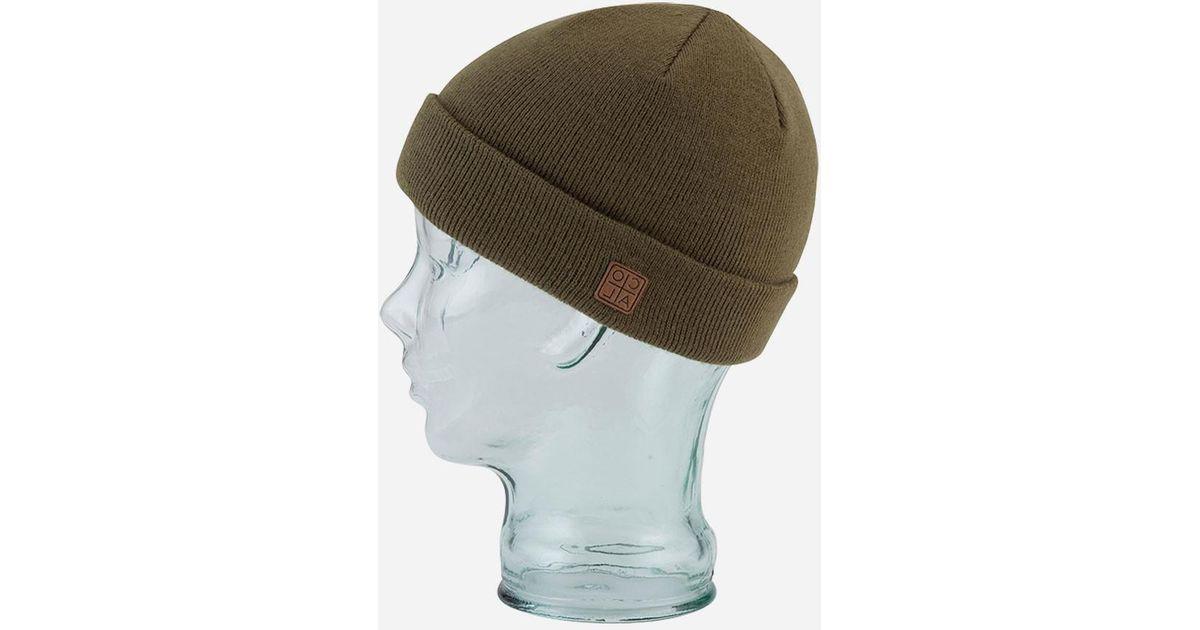 7df540a64e5d03 Lyst - Coal Harbor Cuffed Beanie Hat in Green for Men