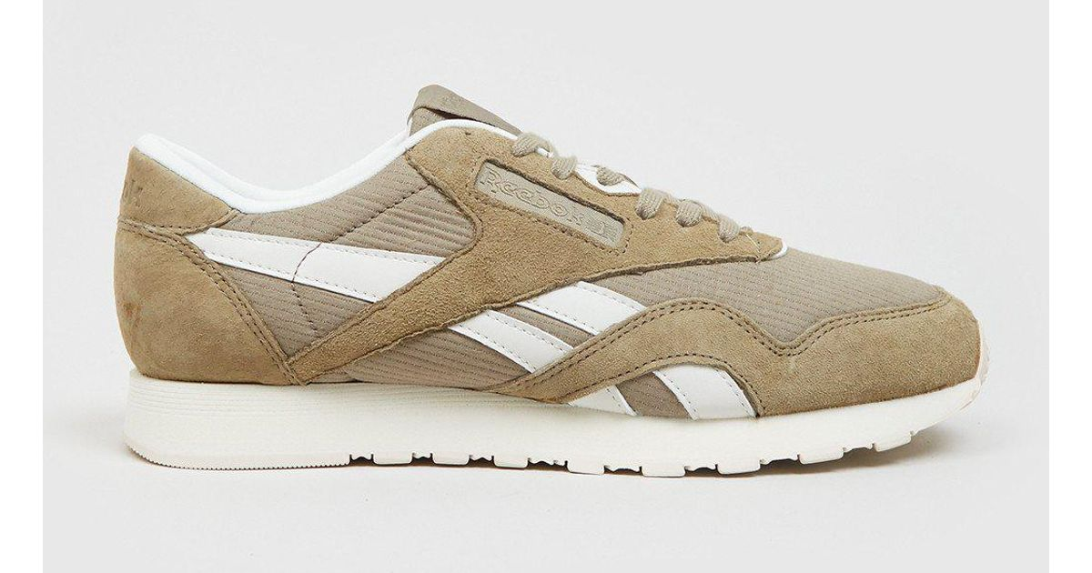c57a3096a5f773 Lyst - Reebok Classic Nylon Sktn (bd2691) in Natural for Men