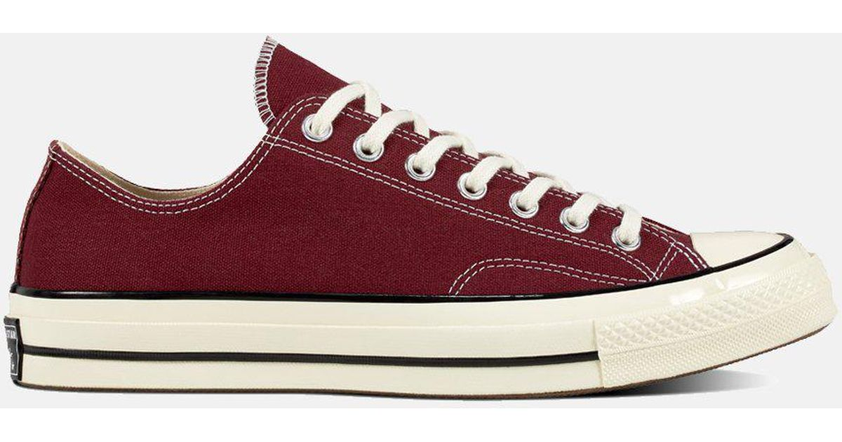 3381dfba624a Converse 70 s Chuck Low 162059c (canvas) in Red for Men - Lyst