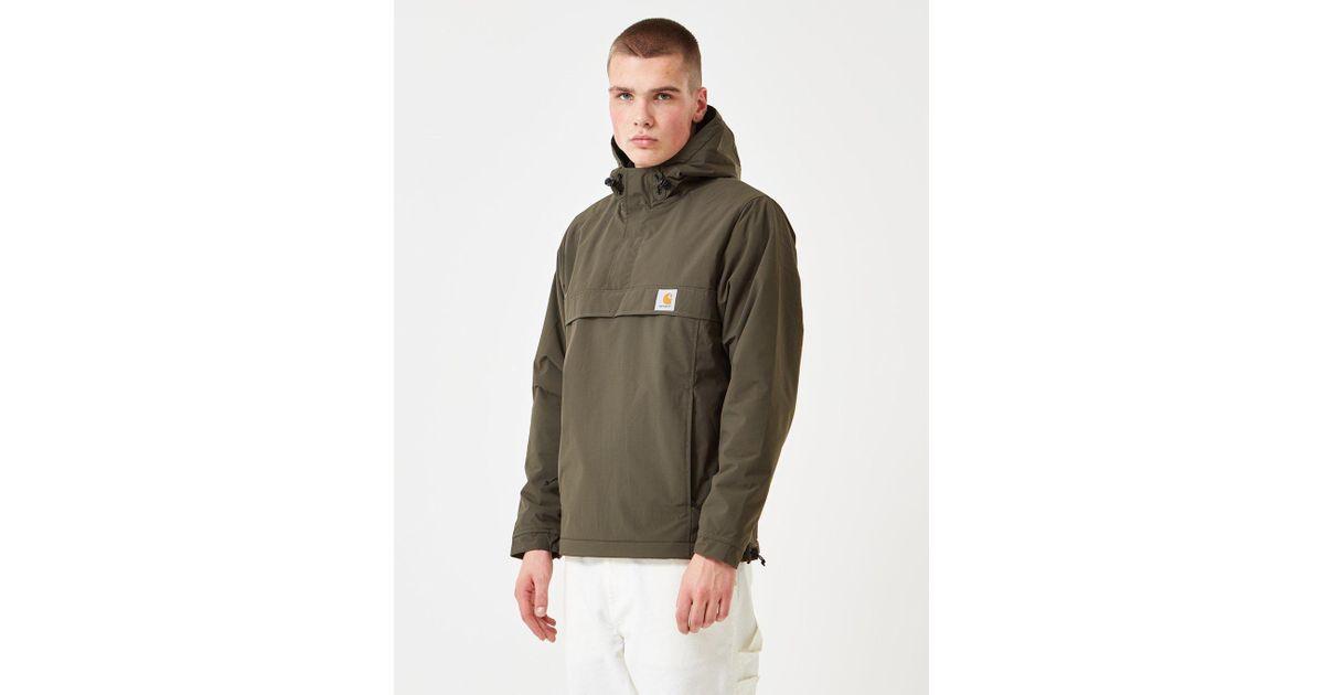 021e298c769 Carhartt Nimbus Pullover Jacket (fleece Lined) for Men - Lyst