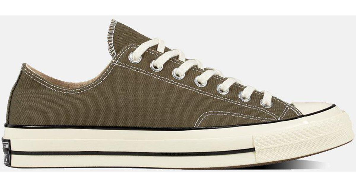 2399bb97293 Lyst - Converse 70 s Chuck Low 162060c (canvas) in Green for Men