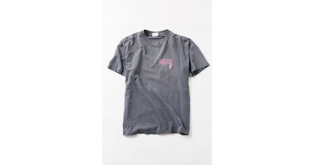 1cd16a6b Urban Outfitters Vintage Gecko '80s Hawaii Surf Tee in Gray - Lyst